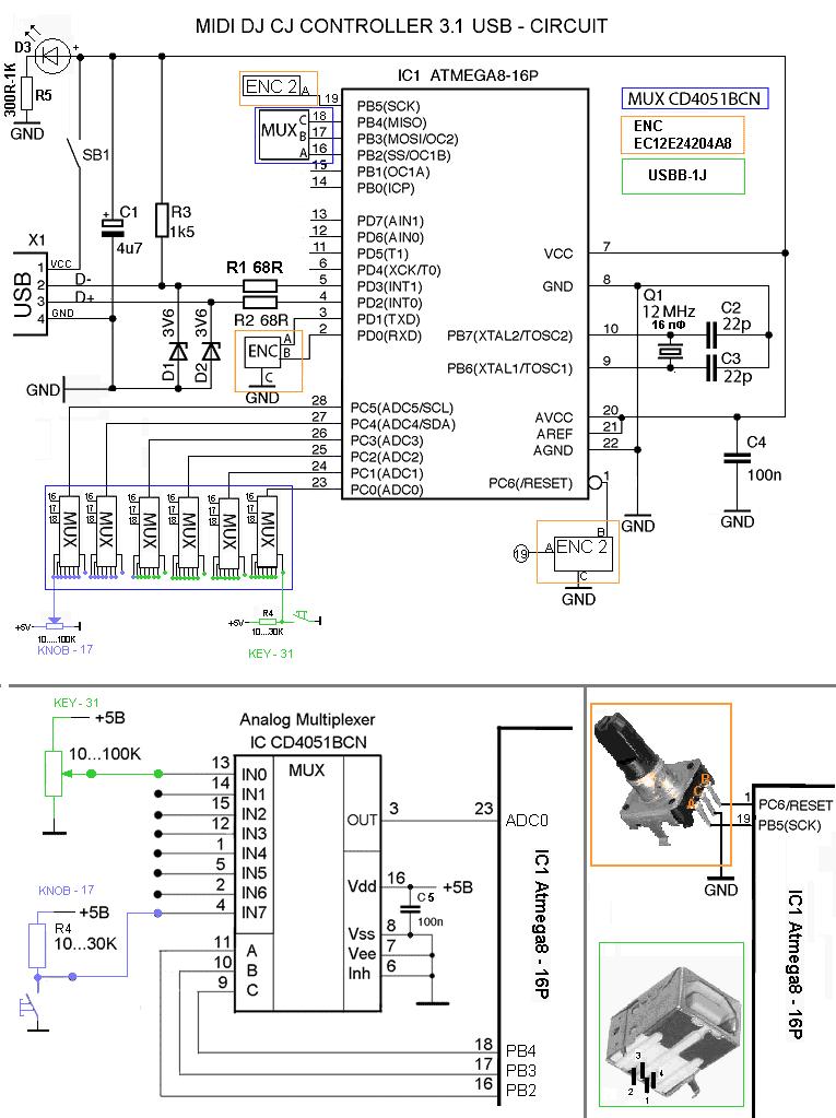 Re: MIDI контроллер