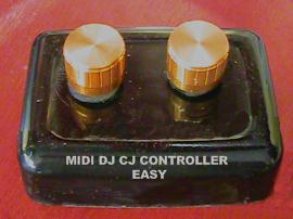 MIDI DJ CJ CONTROLLER version EASY